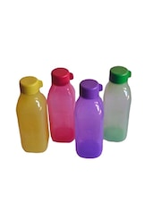 500ML Set of 4 Pcs Aquasafe Square Bottles -  online shopping for Bottles & Jugs