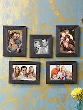 Sifty collection collage photo frame (4x6) 4, (4x4) 1, Set of 5pcs -  online shopping for Photo frames