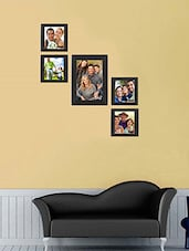 Sifty collection collage photo frame(5x7) 1,  (4x4) 4, set of =5pcs -  online shopping for Photo frames