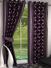 K Décor Beautiful Polyster Long Door Curtain - 1 Pc - By