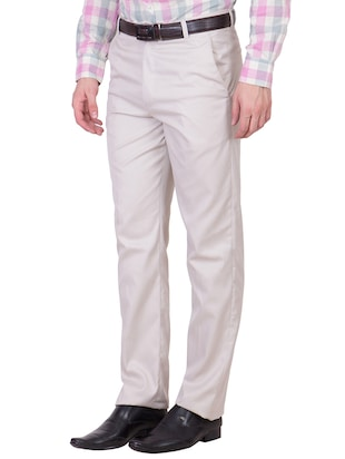 multi colored cotton formal trouser (Set Of 2) - 10972625 - Standard Image - 3