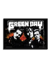 Green Day Graffiti Framed Poster (Without Glass) -  online shopping for Posters