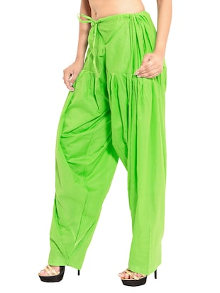 multi colored cotton combo salwars - 11120025 - Standard Image - 3