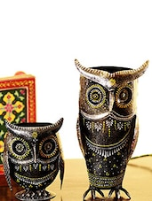 Owl Wine Holder & Pen Stand - By
