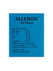 Dr. Vaidya's - Allergic- Relief From Allergies E.g. Sneezing And Rashes - By