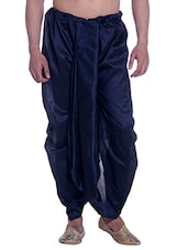 navy blue cotton  dhoti -  online shopping for Dhoti
