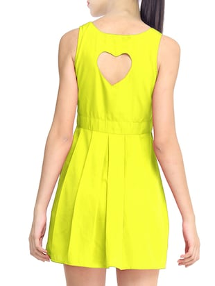 yellow skater dress - 11519474 - Standard Image - 3