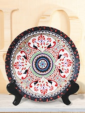 Multicolour  Turkish ceramic plastic plate -  online shopping for Wall Hanging