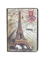 Multicolour Eiffel polycarbonate and PU Leather iPad air case -  online shopping for Mobile covers
