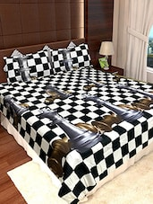 BICHONA 3D DOUBLE BED-SHEET WITH 2 PILLOW COVERS IN GIFT PACKAGING -  online shopping for bed sheet sets