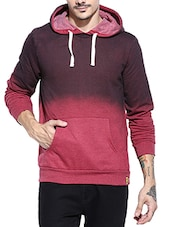 red ombre cotton sweatshirt -  online shopping for Sweatshirts