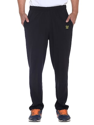 multi colored cotton  ankle length track pant - 11677985 - Standard Image - 6