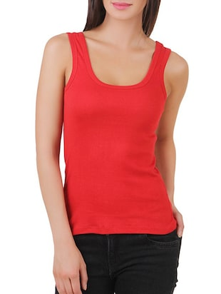 multi colored cotton tank tee set of 5 - 11707304 - Standard Image - 12