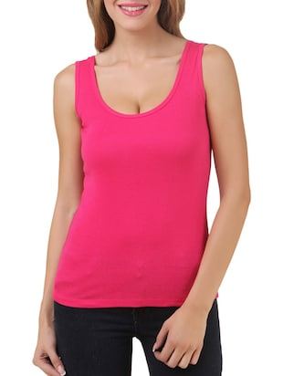 multi colored cotton tank tee set of 5 - 11707310 - Standard Image - 12