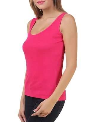 multi colored cotton tank tee set of 5 - 11707310 - Standard Image - 9