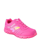 pink lace up sports shoe -  online shopping for Sports Shoes