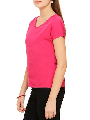 multi colored polyester regular top - 11910589 - Standard Image - 6