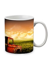 Brown Ceramic Nature Mug - By