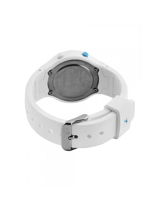 6a6c0e4aa Buy Fastrack Women Silicon Digital White Watch - 68002pp02 for Women from  Fastrack for ₹1821 at 17% off | 2019 Limeroad.com