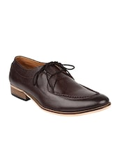 brown leather derbies -  online shopping for Derbies