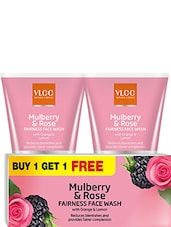 VLCC Mulberry And Rose Fairness Face Wash( Buy 1 Get 1 Free ) - By