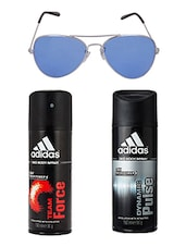 Adidas Deodorant Combo with Aviator -  online shopping for Men Deodorants