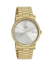 Titan Silver Dial Men's Analog Watch - 1712ym02 -  online shopping for Men Analog Watches