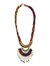 multi brass tribal necklace -  online shopping for Necklaces