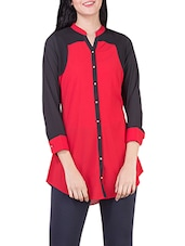 red none regular shirt -  online shopping for Shirts