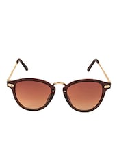 Vespl Designer Brown Color Cat Eye Women Sunglasses - By