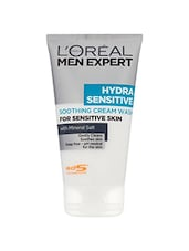 L'Oreal Paris Men Expert Hydra Sensitive Soothing Cream Face Wash (150 Ml) - By