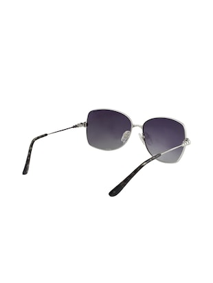 Silver and purple unisex sunglasses - 13025514 - Standard Image - 3