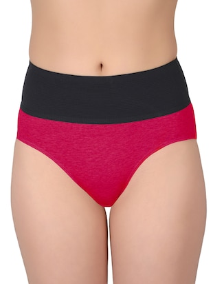 set of 5 multicolored cotton panties - 13081662 - Standard Image - 12