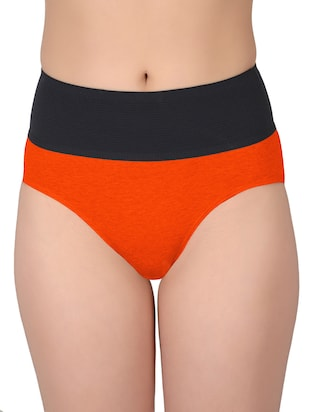 set of 5 multicolored cotton panties - 13081662 - Standard Image - 3