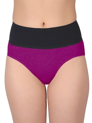 set of 5 multicolored cotton panties - 13081662 - Standard Image - 6