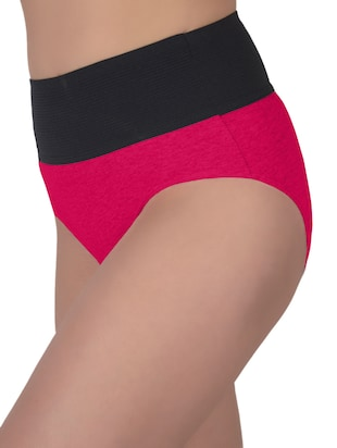 set of 5 multicolored cotton panties - 13081662 - Standard Image - 9
