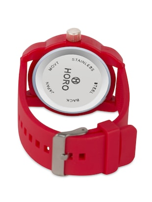 Red 3D round dial kids watch - 1311358 - Standard Image - 3