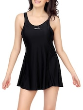black functional swimsuit -  online shopping for functional swimsuit
