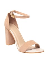 beige ankle strap sandal -  online shopping for sandals