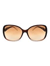 Zyaden Brown Oversized Sunglasses For Women 364 - By