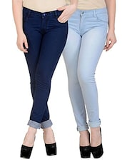 blue cotton jeans combo -  online shopping for Jeans