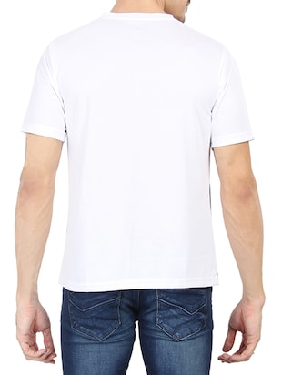 white cotton t-shirt - 13266445 - Standard Image - 3