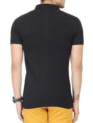 colour block cotton t-shirt - 13266446 - Standard Image - 3