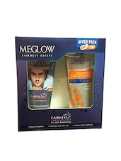 Meglow cream 50g and Facewash 70g gift set For Men -  online shopping for Bath & Body
