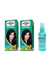 SUPER VASMOL KESH KALA OIL 100ML PACK OF 2 WITH PINK ROOT HAIR SERUM - By