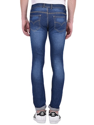 blue denim ripped jeans - 13386439 - Standard Image - 3