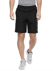 black polyester short -  online shopping for Shorts