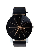 kellan black classy watch diamond studded  watch -  online shopping for Wrist watches