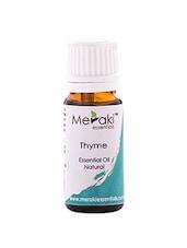 Meraki Essentials Thyme Essential Oil (10 ML) - By