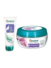 Himalaya For MoMs Anti-rash Cream 50 G  And Soothing Body Butter Cream For MoMs  Rose 50 Ml - By